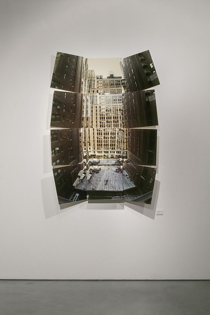 """no. 1: The Stage, 2005, mixed media, 60 x 90 x 10"""""""