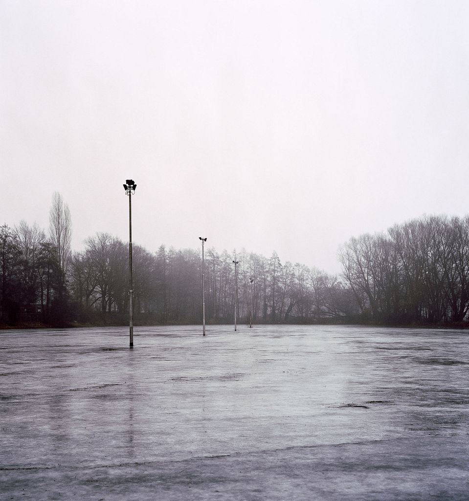 Flooded Plain, 2006, C-print, 40.75 x 43.5""