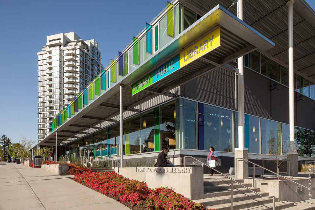 Translink, Tommy Douglas Library, Burnaby BC